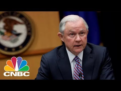 Attorney General Jeff Sessions Makes New Opioid Policy Announcement — Feb. 27, 2018 | CNBC