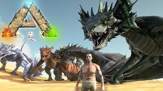 ALL NEW CREATURES!!! NEW DRAGONS!! - Scorched Earth - Ark Survival Evolved Expansion
