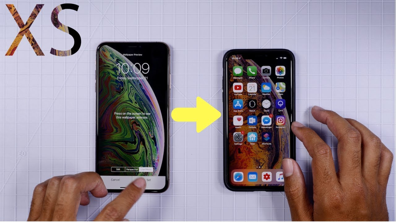 Get Iphone Xs Exclusive Live Wallpapers On Any Device Youtube