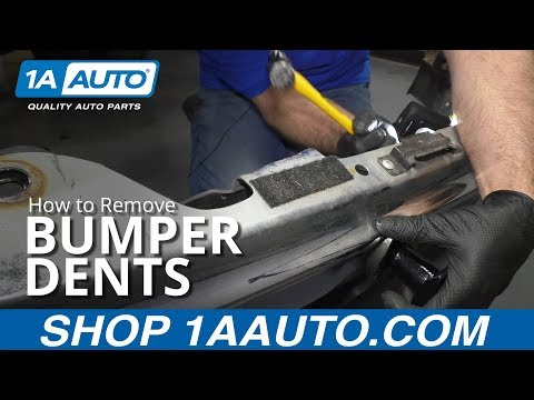How to Remove Metal Bumper Dents