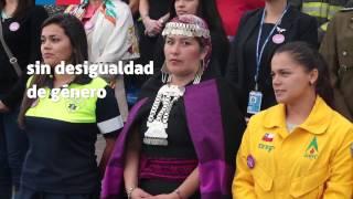 Presidenta Bachelet participó en el acto de conmemoración del Día Internacional de la Mujer