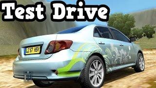 City Car Driving - Passenger Car (Toyota Corolla) Test Drive