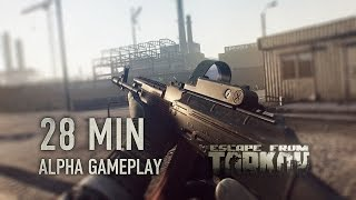 28 minutes video footage shot from alpha version of escape tarkov on customs location.project website:http://www.escapefromtarkov.compre-order:http://ww...