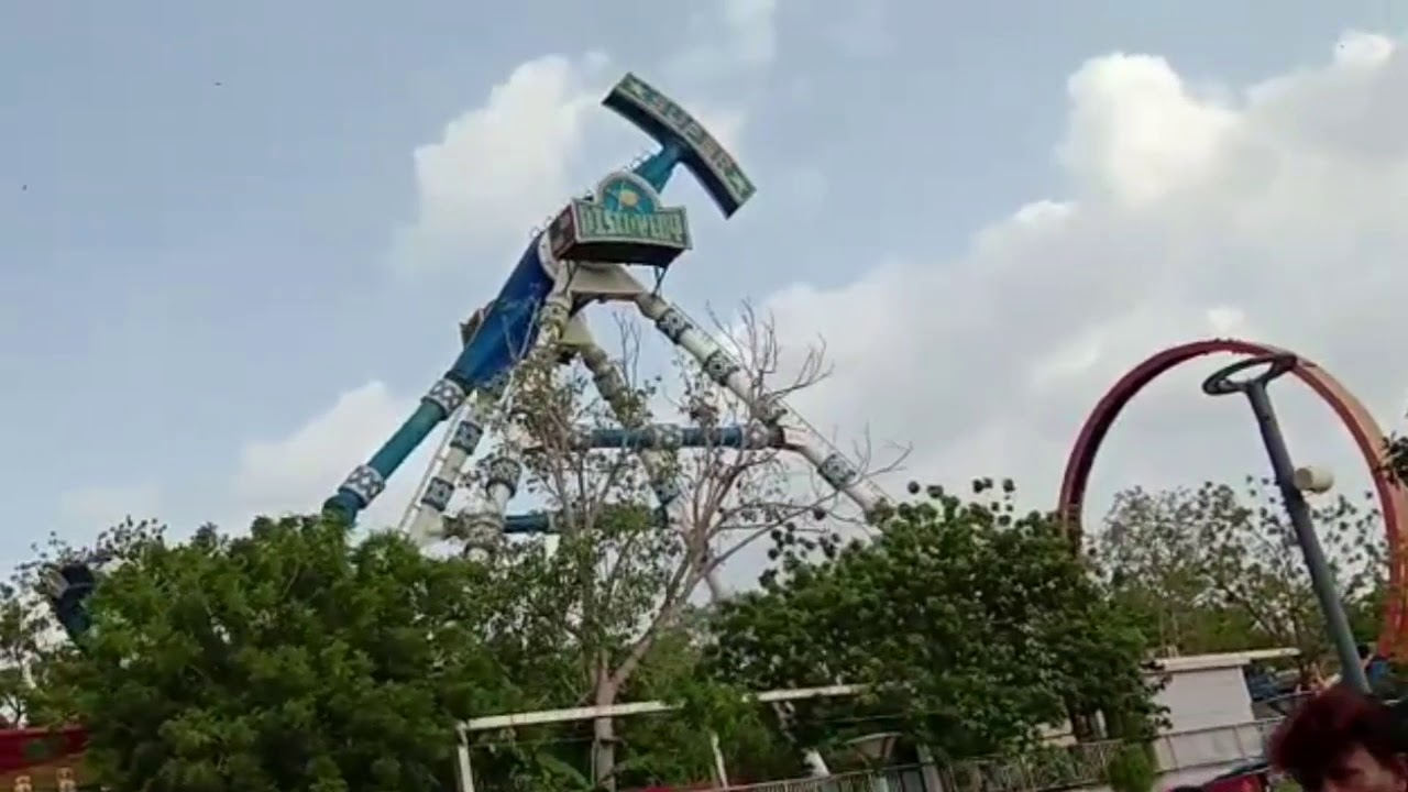 Kankaria lake front Ahmedabad joy ride collapse video goes viral