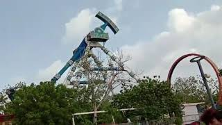 Kankaria lake front Ahmedabad joy ride collapse video goes viral