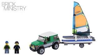 LEGO 60149 CITY ● 4x4 with Catamaran
