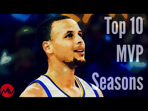 Top 10 NBA MVP Seasons