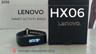 Lenovo HX06 Fitness band | Unboxing & Review | 2018