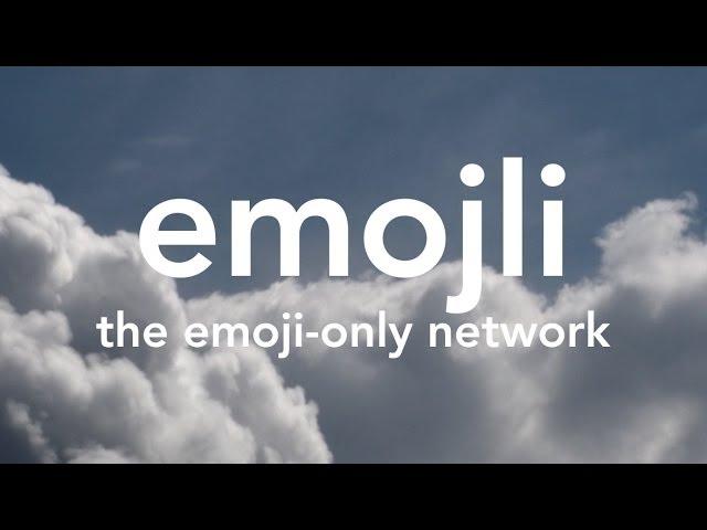 Bye-Bye, Words: An Emoji-Only Social App Is Coming