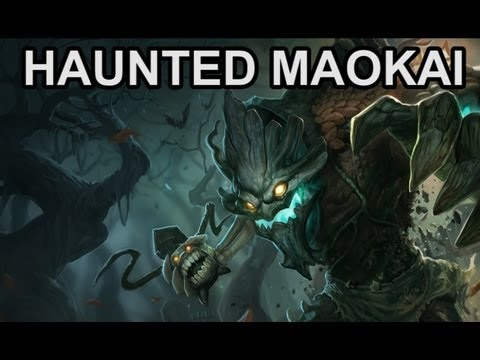 Haunted Maokai Skin and Abilities - New Skin Preview - League of Legends
