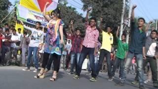 ICC T20 Worldcup 2014 Flashmob by The Millennium Stars School & College,Rangpur