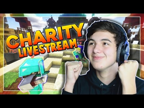 Skywars with Fans!   Minecraft Charity Livestream
