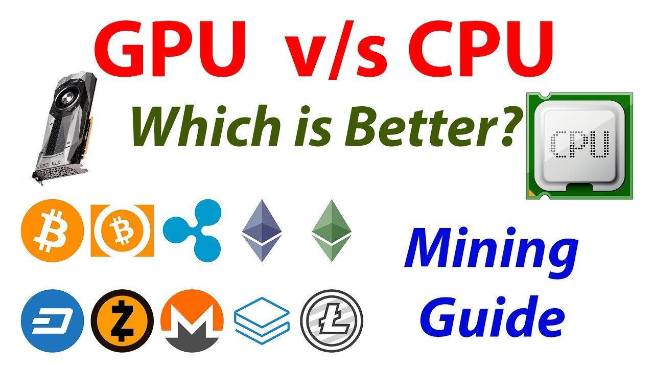 How to mine bitcoins with your cpu cpu mining vs gpu mining difference between asic gpu and cpu mining ccuart Image collections