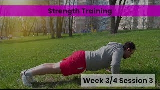 Strength - Week 3/4 Session 3 (Control)