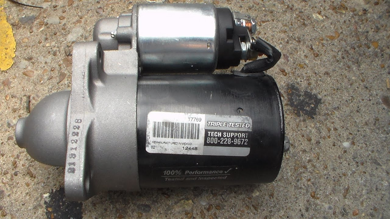 small resolution of 2005 kia rio starter replacement