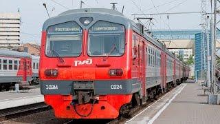 Симулятор поезда (ZDsimulator) поездка на электропоезде ЭД4М # 2