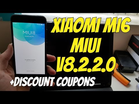Xiaomi Mi6 Updates/NEW OTA/Offical Global Stable ROM 8.2.2.0 Released/Antutu test(+discount Coupons)