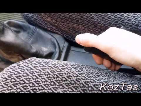 регулировка ручника без ямы