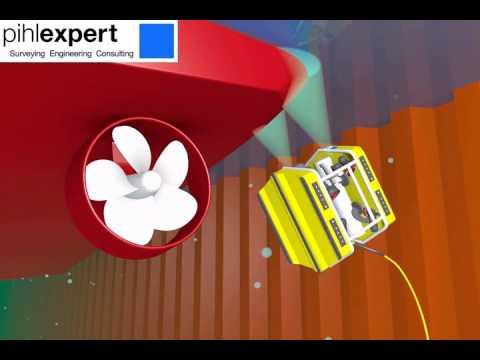 "ROV ""IW survey"" of vessel bottom, propeller e.g. - PihlExpert services"