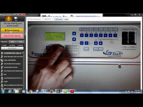 Pool School: How to Program Your Pentair Easytouch Automation by Presidential Pools, Spas & Patio