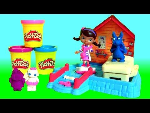 Massinhas Play Doh Clinica Da Doutora Brinquedos Com Felpudo O
