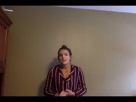 GEB Speech One: Samantha Parsons