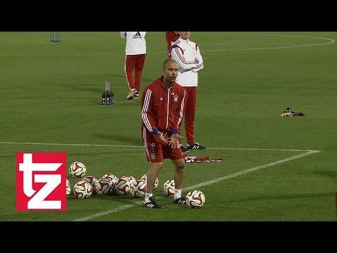 "Pep Guardiola in Ekstase: ""Badstuber, I love you"" - ""Das ist Fußball"" - FC Bayern in Doha"