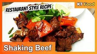 How to Make Vietnamese Shaking Beef  Restaurant Secret Recipe   Easy Recipe  KT Food Adventure