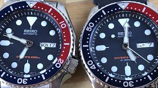 Seiko skx009 J vs K