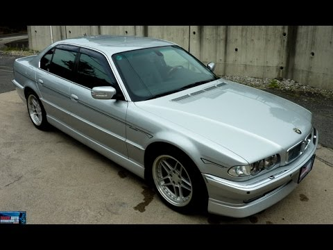 Walk Around – 2000 BMW E38 740i – Japanese Car Auction