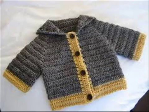 Easy To Knit Baby Sweater Vest Cardigan Made Youtube