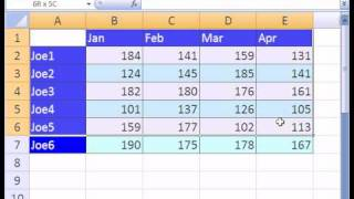 Excel Magic Trick #90: Consolidation