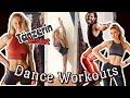 🩰 professionelle TÄNZERIN testest die erfolgreichsten DANCE WORKOUTS 💪 Pamela Reif, MadFit, Tanju