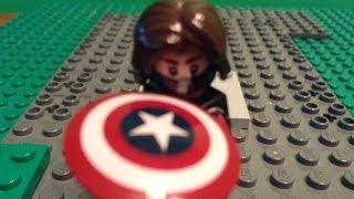 Marvel's: Captain America The Winter Soldier Trailer #1 in LEGO
