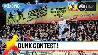Epic 4-Way Dunk Contest w/ Guy Dupuy, Smoove, David Carlos & Miller | FIBA 3x3 World Cup 2018