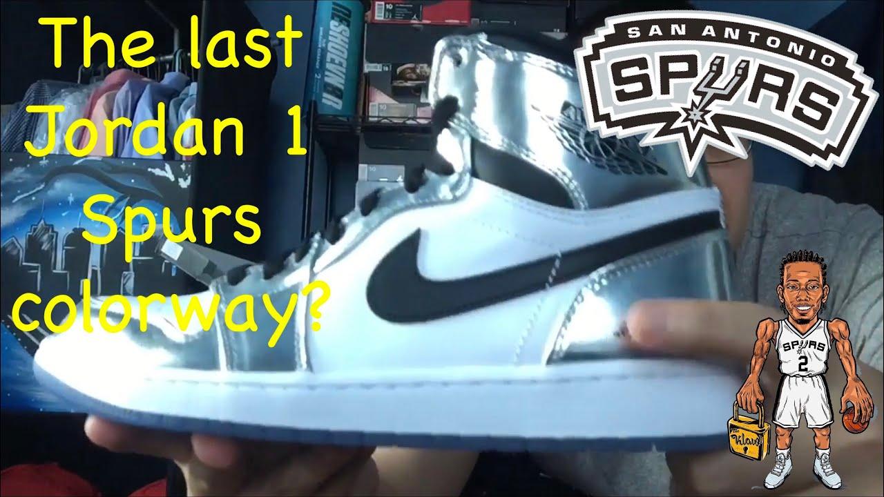 42d1627ace325c Air Jordan 1 Kawhi Leonard   Pass The Torch Review - YouTube