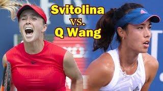 Elina Svitolina VS. Qiang Wang Hong Kong Second Set
