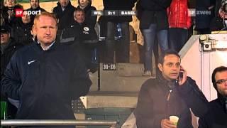 2011/12 - 1/8-Final: FC Wil - FC Basel 2:3 n.V. (1:1, 0:1)