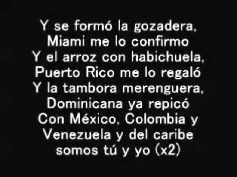 Gente de Zona ft  Marc Anthony - La Gozadera - Lyrics