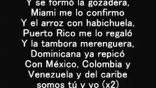 Gente de Zona ft  Marc Anthony - La Gozadera - Lyrics