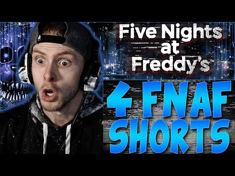 VAPOR REACTS TO 4 FNAF SHORT ANIMATIONS