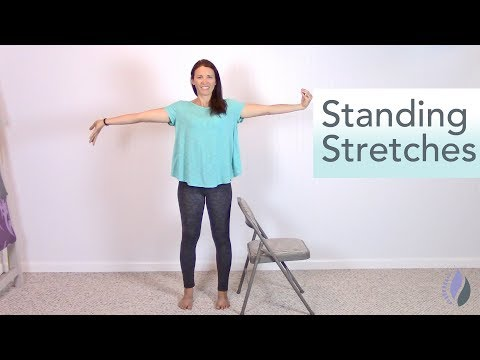 10 Minute Standing Stretches | Pilates at Your Desk