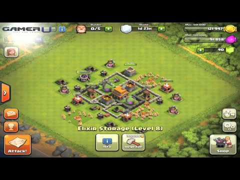 Clash of Clans - 3 Types of Defensive Layouts
