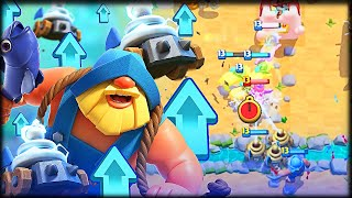 ¡¡ EL PESCADOR Y LOS ZAPPIES ESTAN OP DESPUES DEL BUFF !! - Clash Royale - WithZack