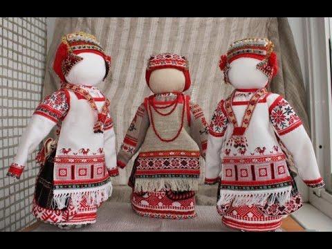 Как на Руси делали деревенскую тряпичную куклу