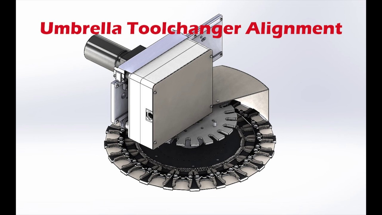 Umbrella Toolchanger Alignment