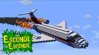Minecraft: ACIDENTE DE AVIÃO! (Esconde-Esconde)