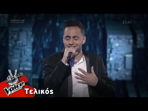 Louis Παναγιώτου - All of Me   Τελικός   The Voice of Greece
