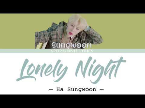 Free Download Ha Sung Woon (하성운) - Lonely Night (color Coded Lyrics Eng/rom/han/가사) Mp3 dan Mp4