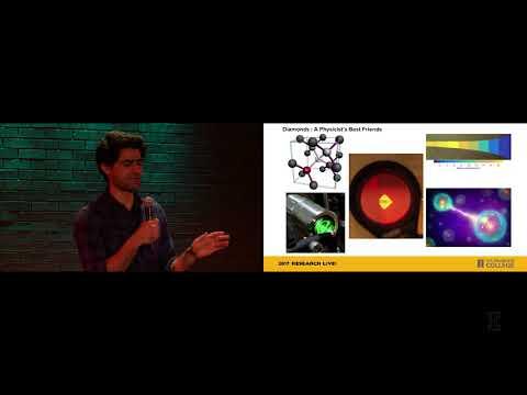 2017 Research Live! Finalist: Sarvagya Sharma – Diamonds, Physicist's Best Friend